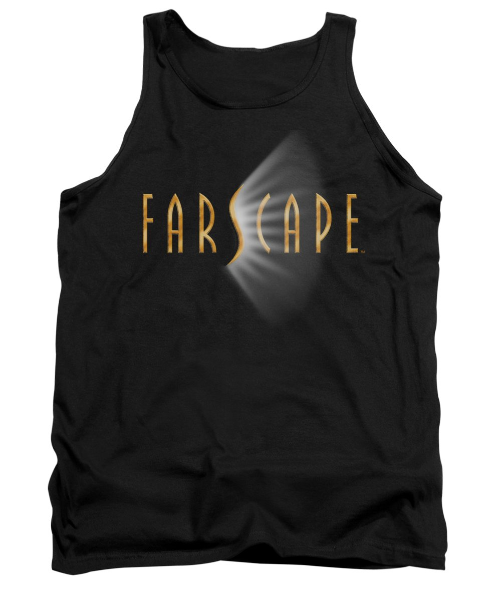 Farscape Tank Top featuring the digital art Farscape - Logo by Brand A