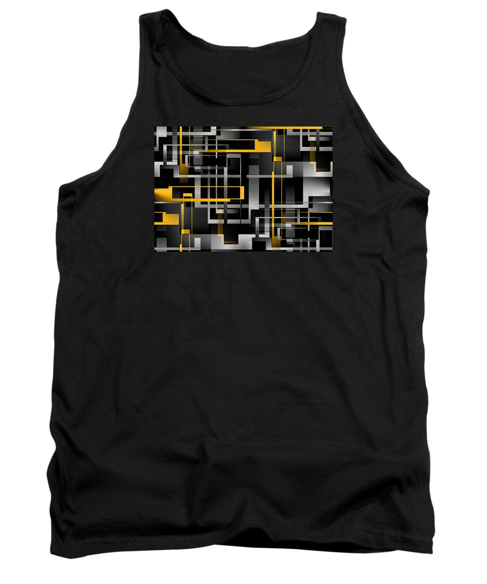 Graphic Art Tank Top featuring the digital art Fascinating by Raul Ugarte