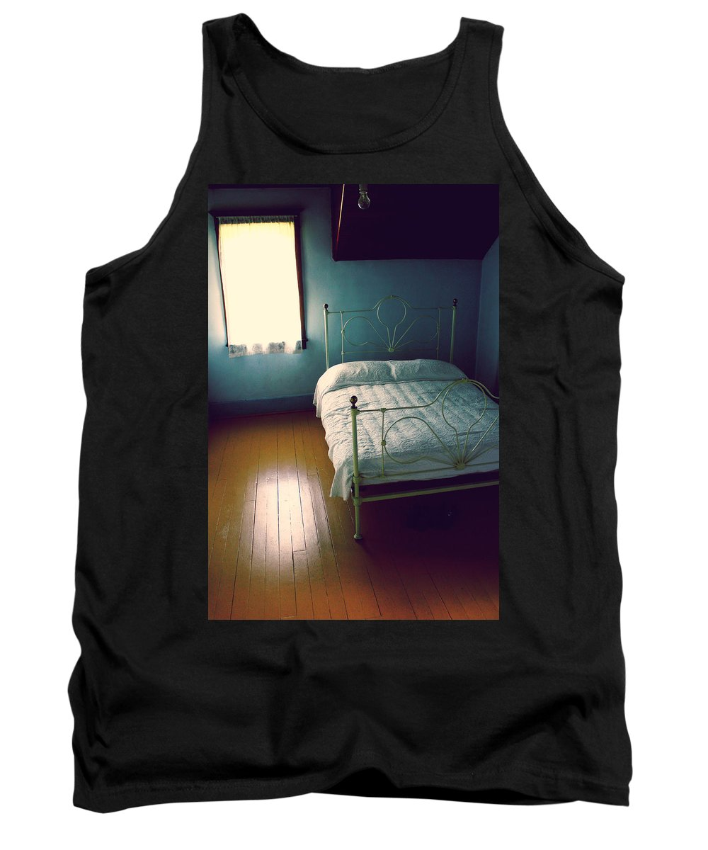 Bedroom Tank Top featuring the photograph Feel Like Going Home by The Artist Project