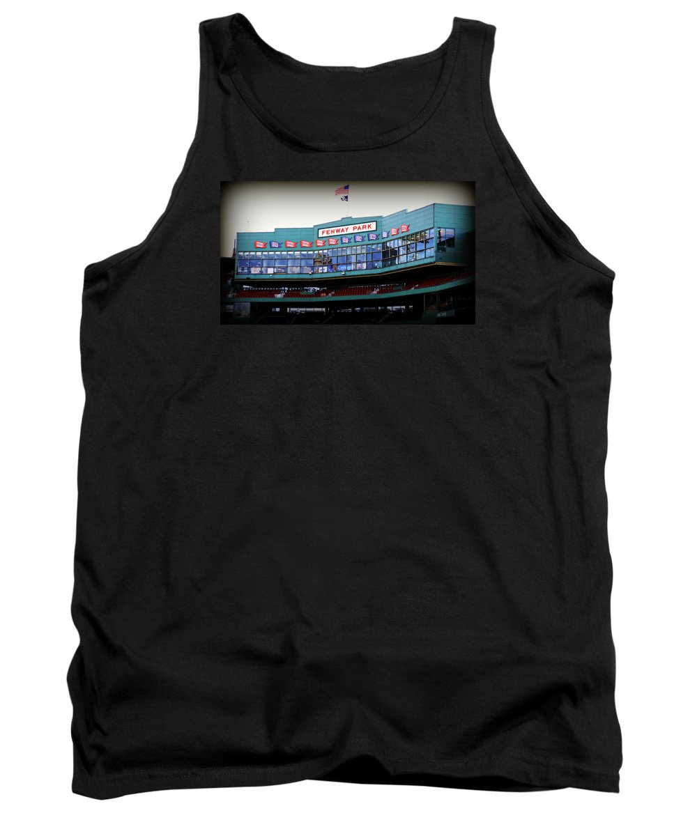 Fenway Park Tank Top featuring the photograph Fenway Park by Stephen Stookey