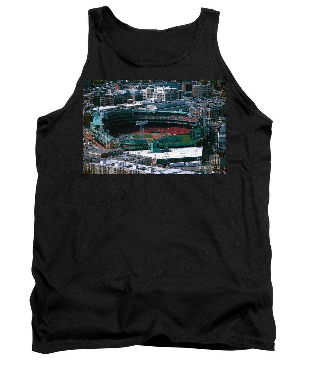 Fenway Park Tank Top featuring the photograph Fenwaypark by Ray Konopaske