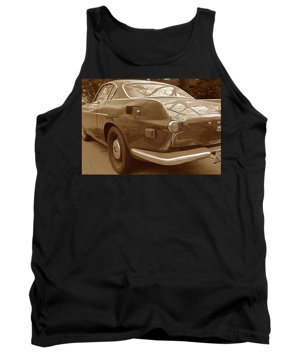 Transportation Tank Top featuring the photograph Fifties Volvo I I by Jim Smith