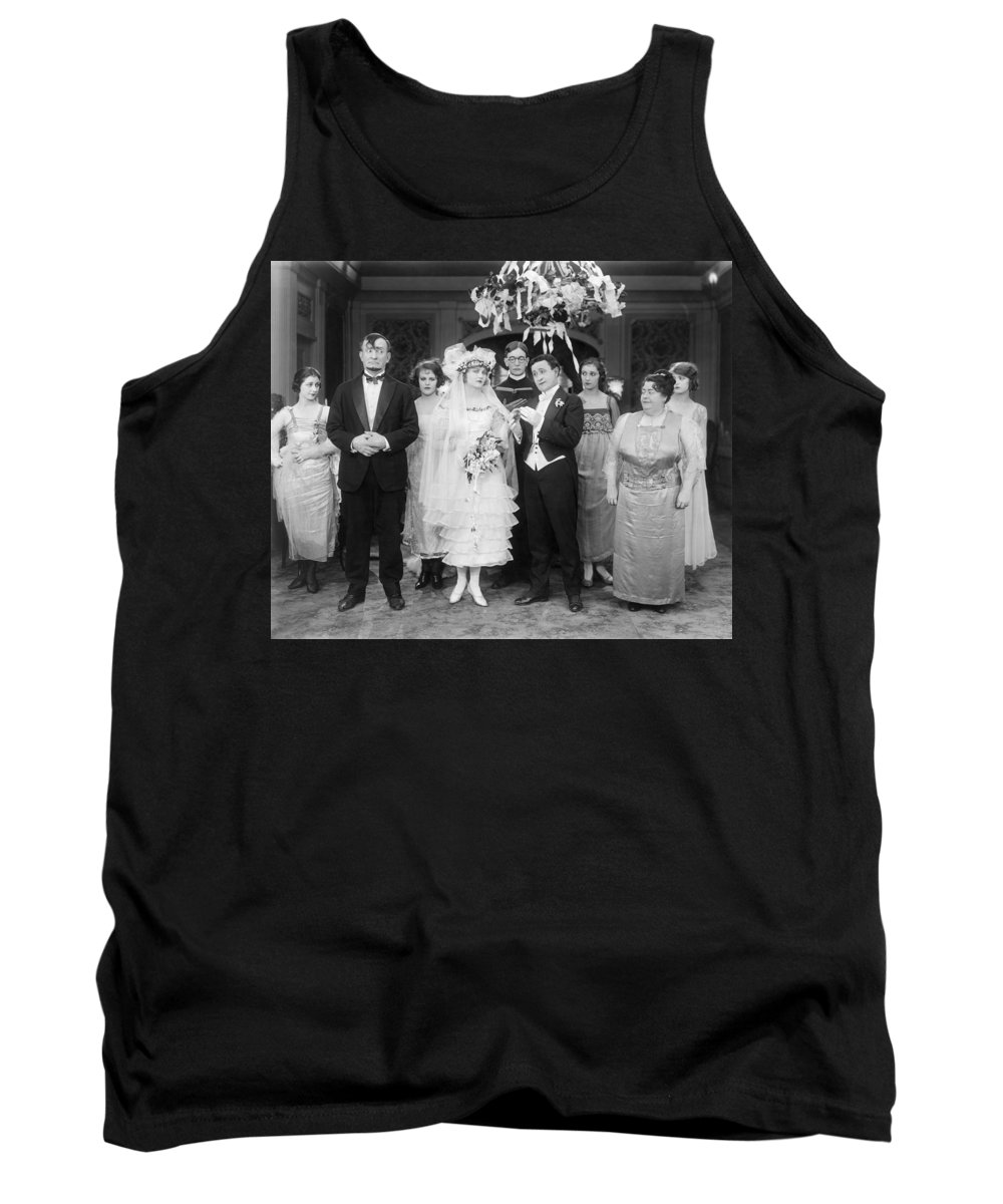 1920 Tank Top featuring the photograph Film Still: By Golly, 1920 by Granger