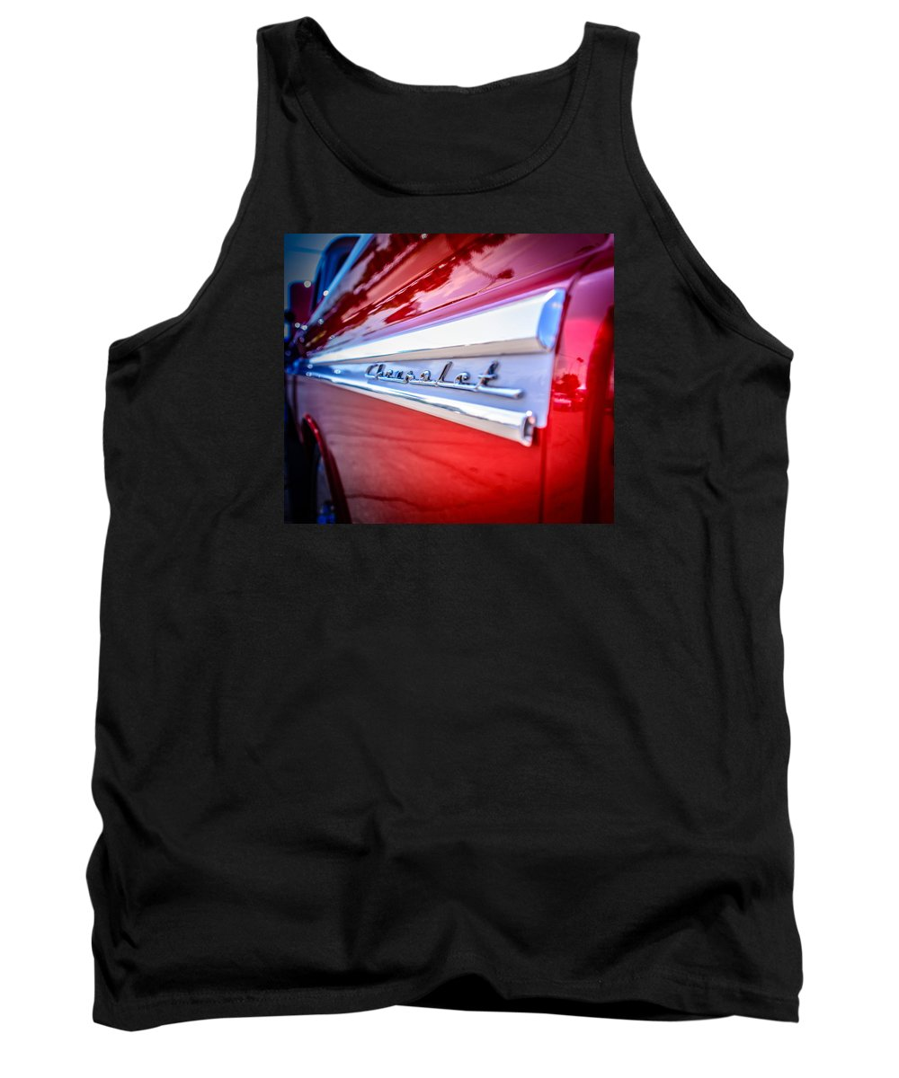 Classic Pickup Tank Top featuring the photograph Fine Lines by Colleen McIntier