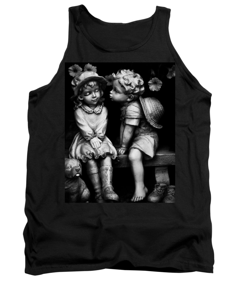 Vancouver Tank Top featuring the photograph First Kiss by The Artist Project