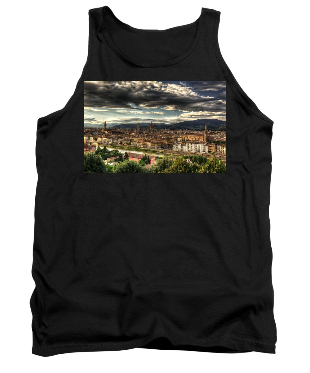 Florence Tank Top featuring the photograph Florence by Michael Kirk
