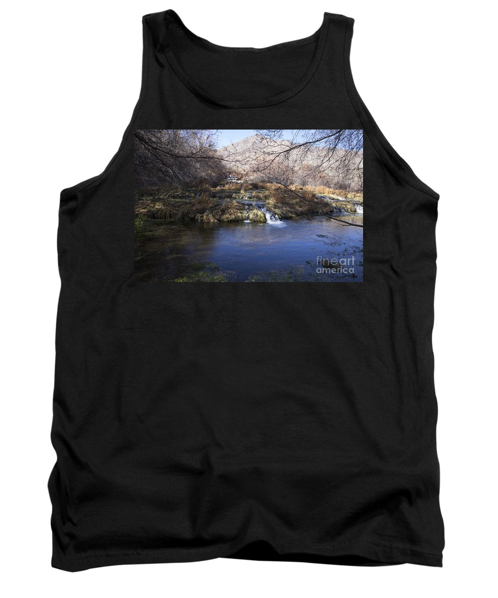 Ice Tank Top featuring the photograph Flow V7 by Douglas Barnard