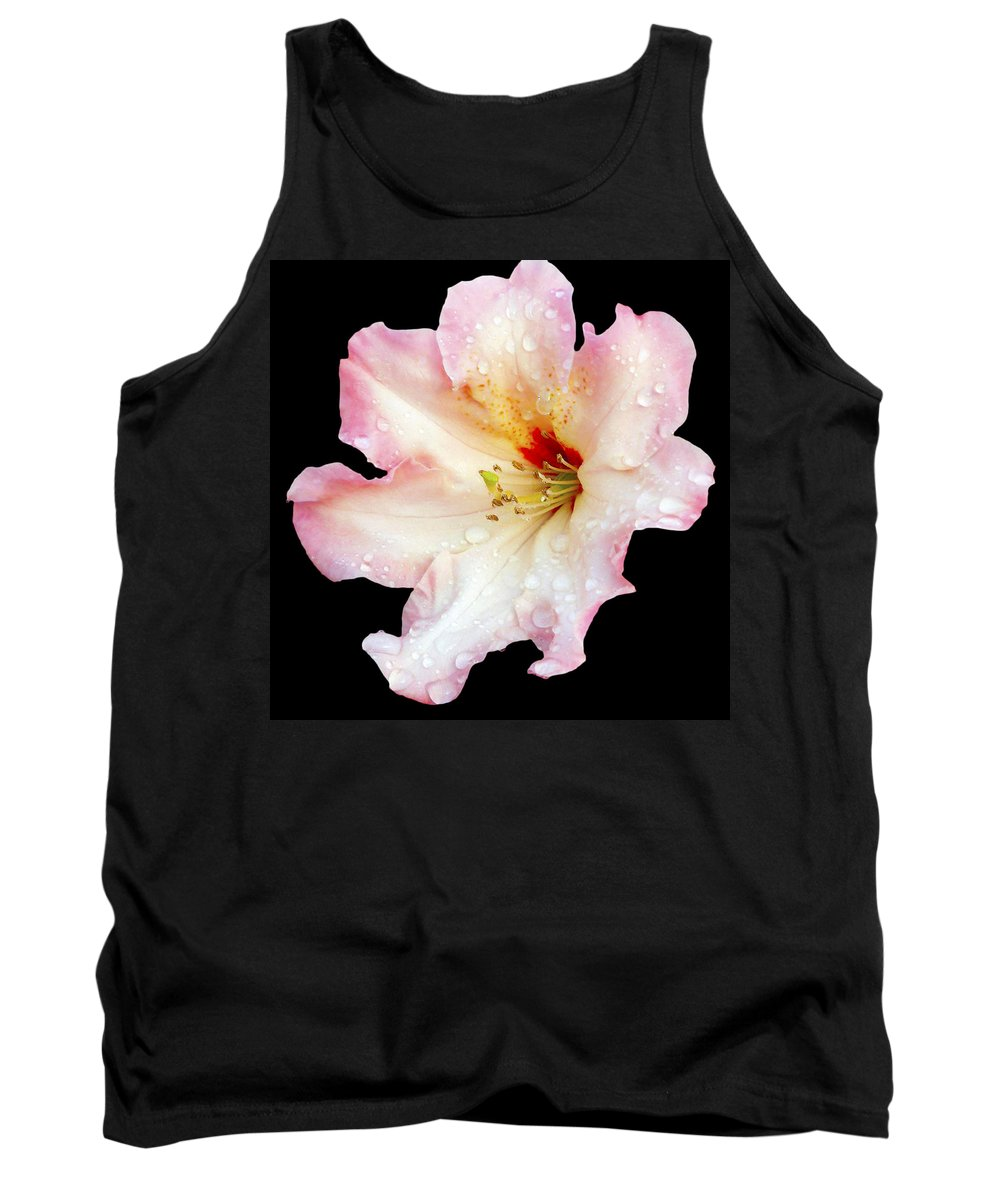 Flower Tank Top featuring the photograph Flower 225 by Ingrid Smith-Johnsen