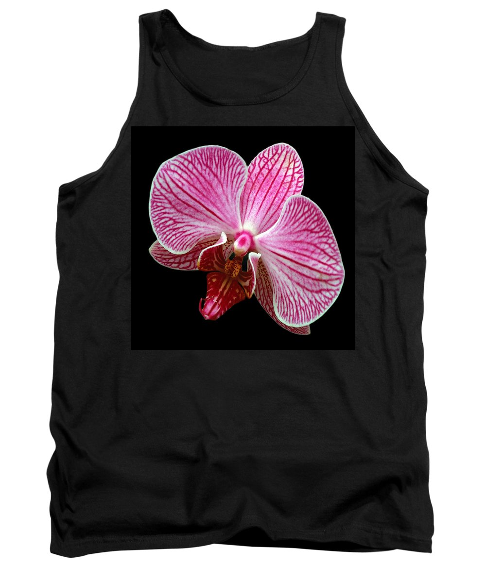 Flower Tank Top featuring the photograph Flower 280 by Ingrid Smith-Johnsen