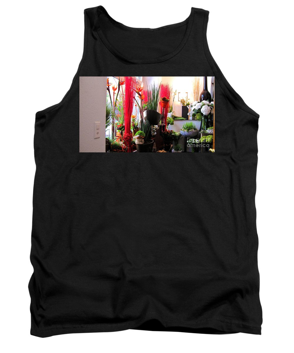 Flower Paradise Tank Top featuring the photograph Flower Paradise by Susanne Van Hulst