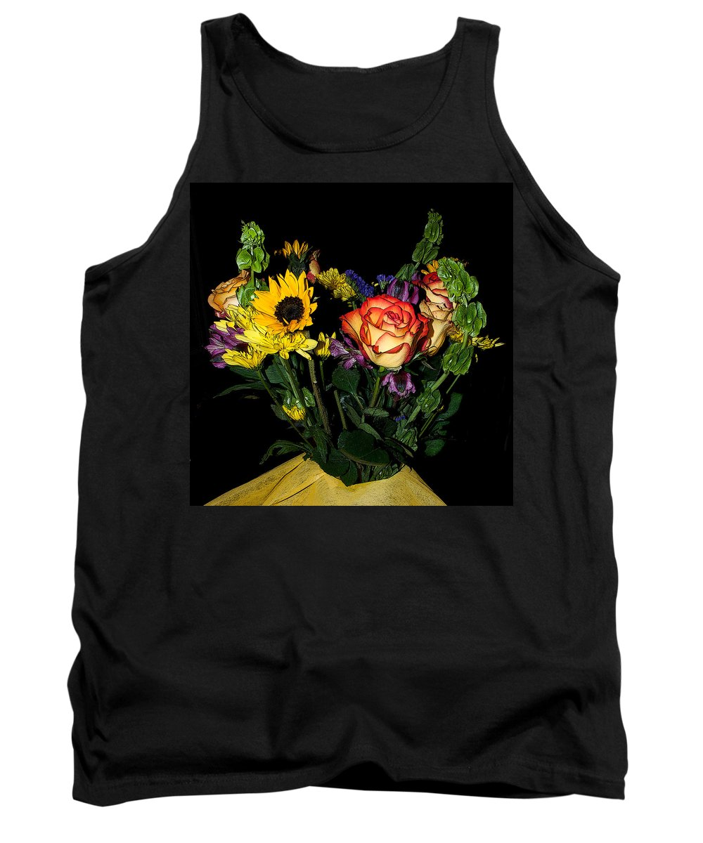 Flowers Tank Top featuring the photograph Flowers From The Heart by Photos By Cassandra