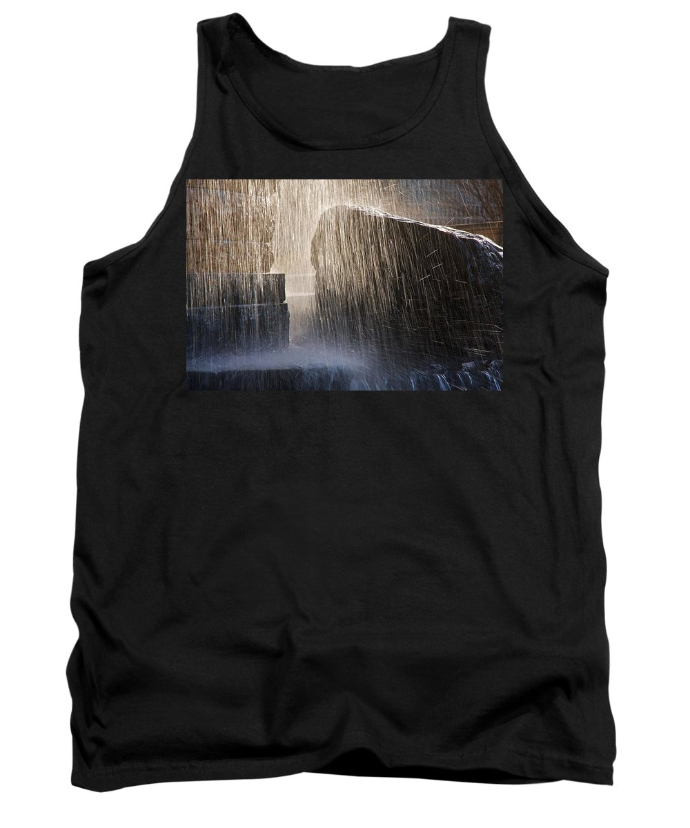 Flowing Water Tank Top featuring the photograph Flowing Water #2 by Stuart Litoff