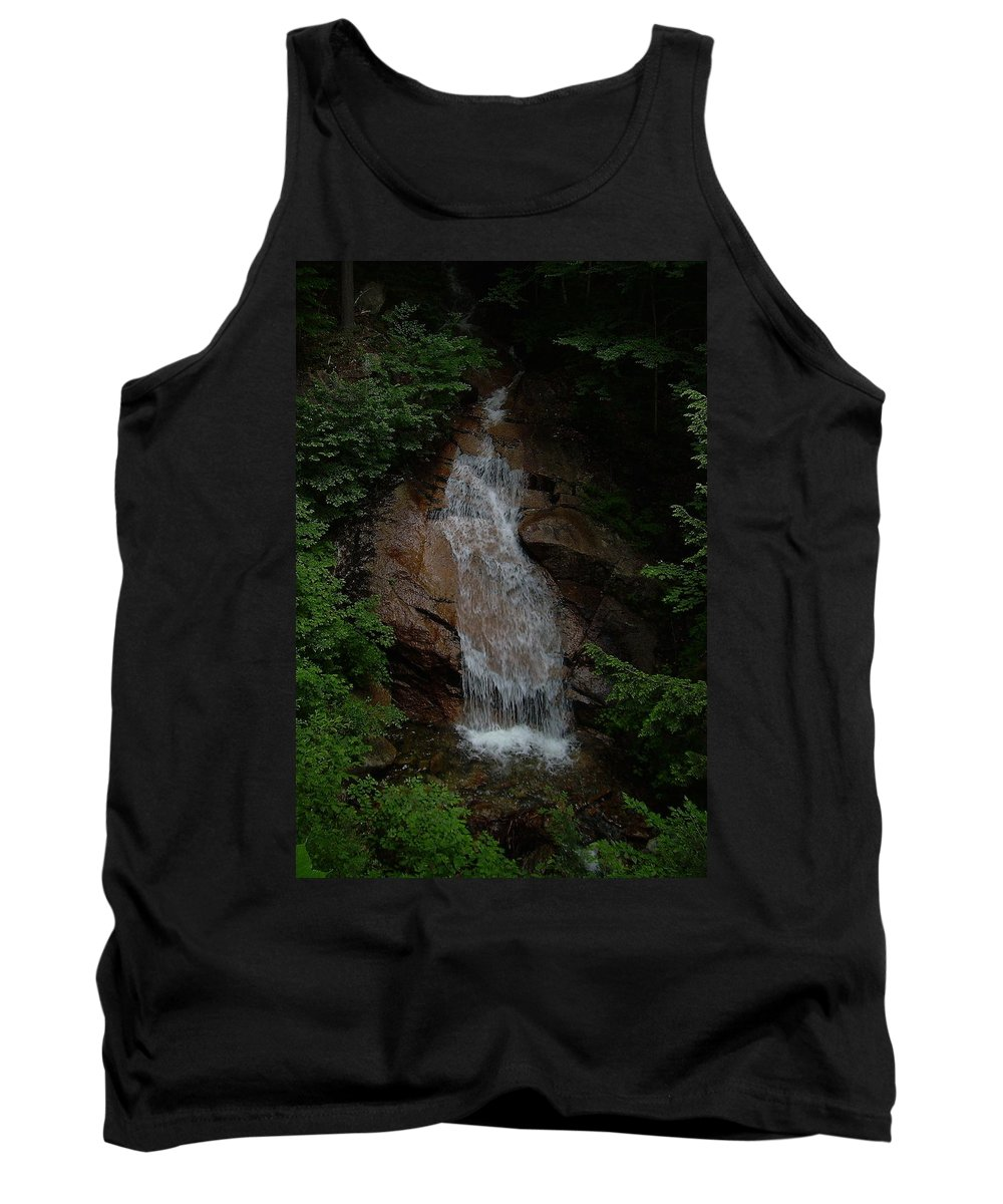 Flume Gorge Tank Top featuring the photograph Flume Gorge by Jeff Heimlich