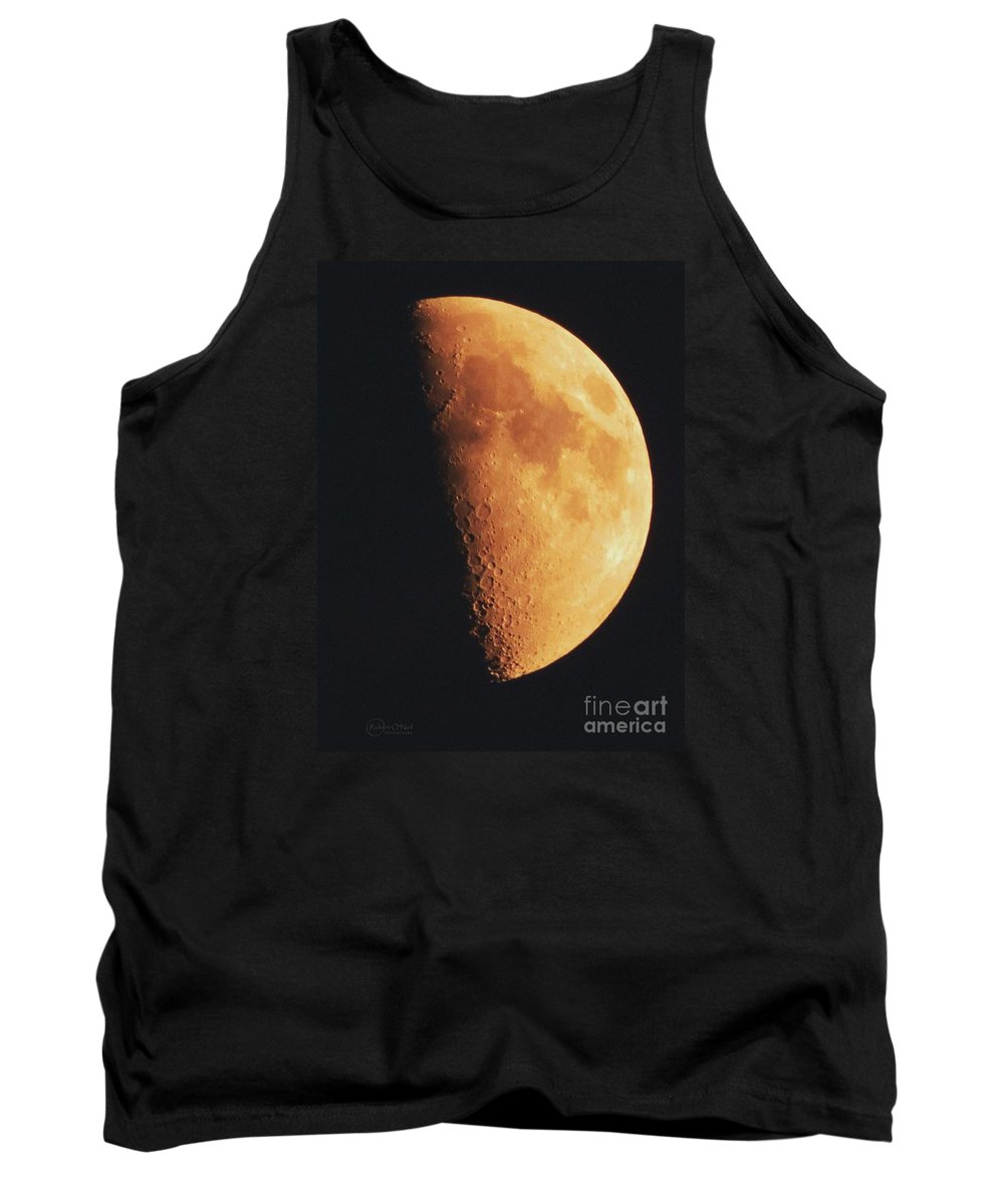 Moon Tank Top featuring the photograph Fly Me To The Moon by Robert ONeil