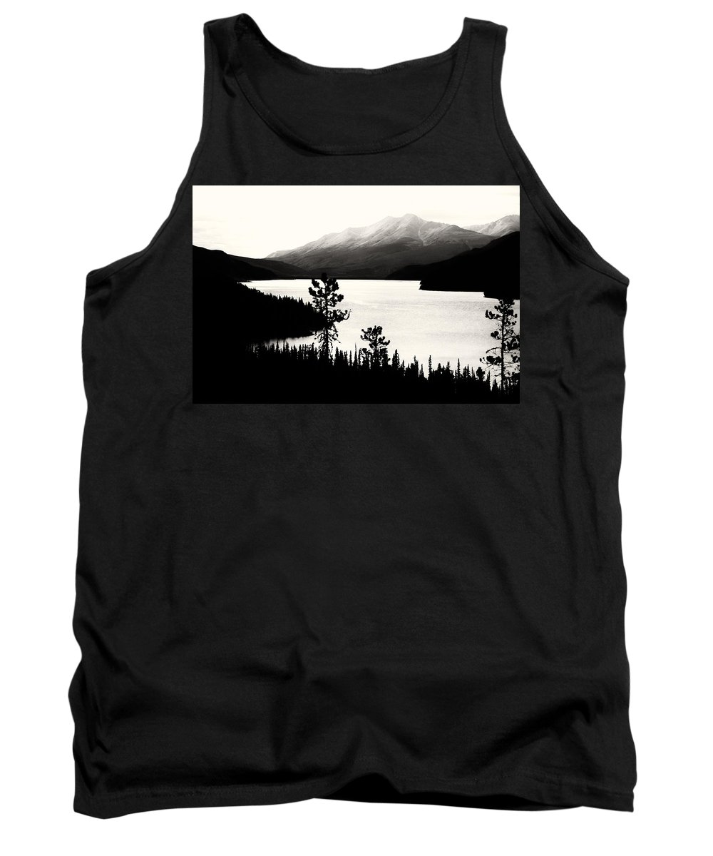 Americas Tank Top featuring the photograph Fog Over The Mountain by Roderick Bley