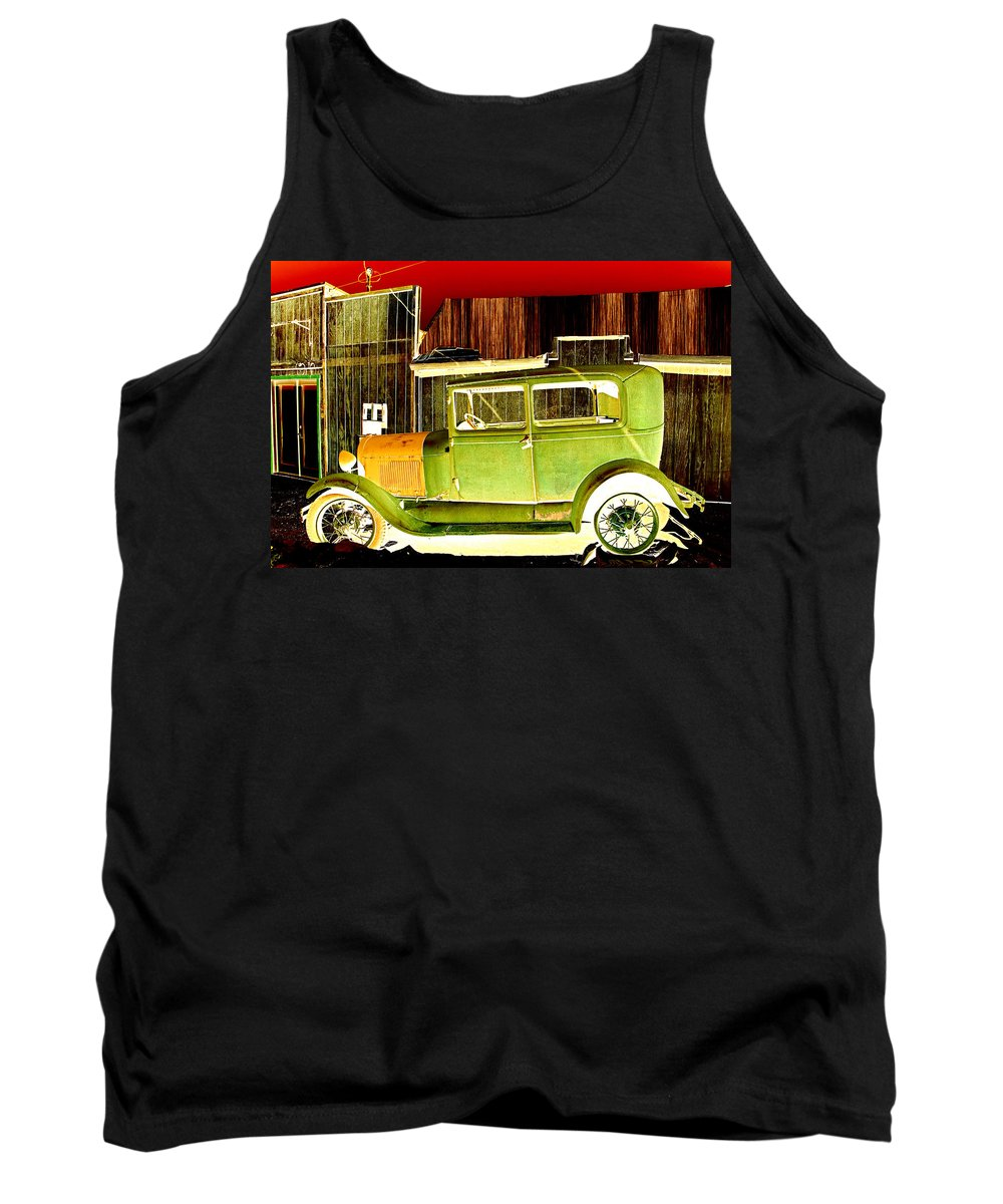 Randsburg Tank Top featuring the photograph Ford by Diana Hughes