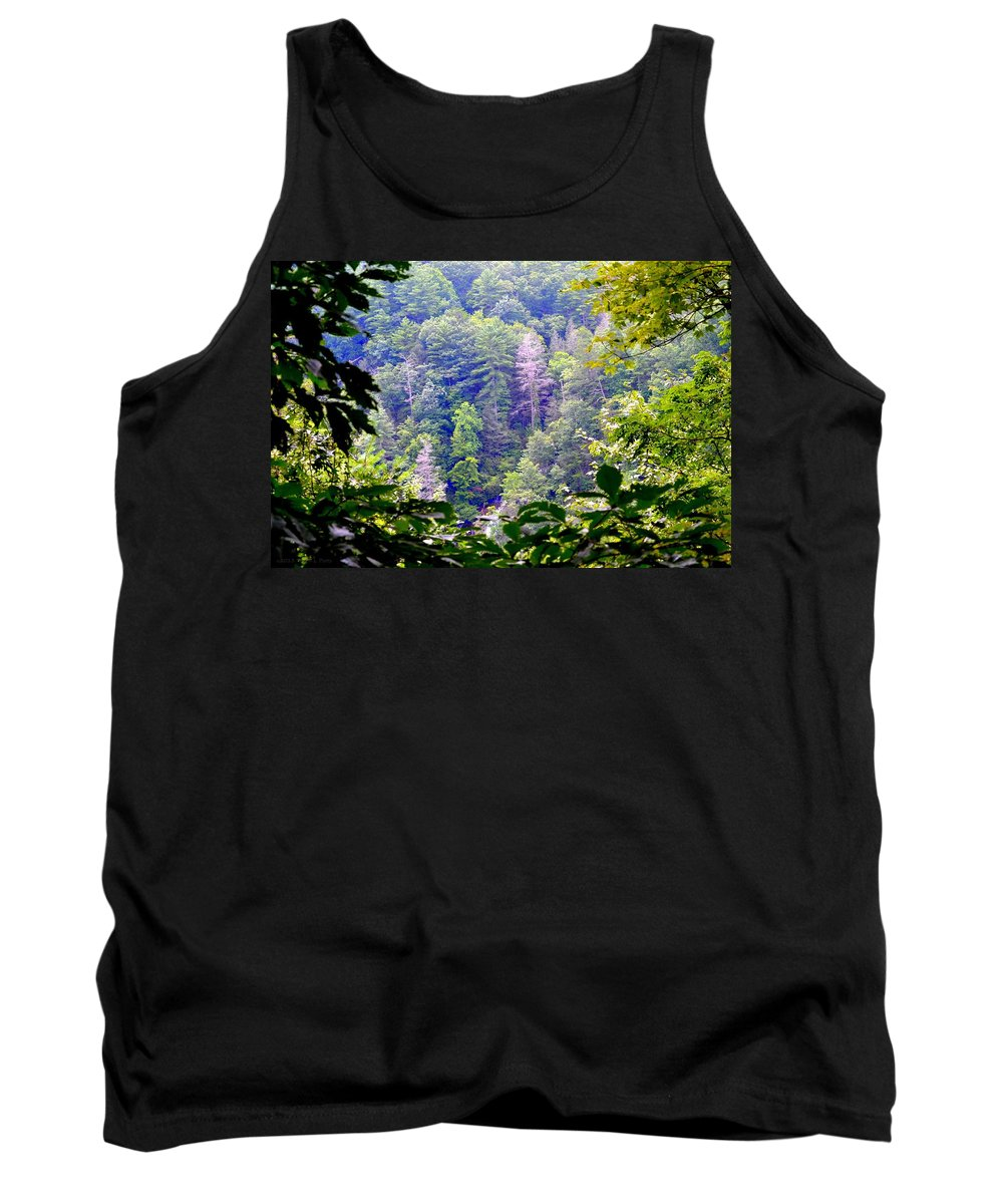 Forest Tank Top featuring the photograph Forest For The Trees by Tara Potts