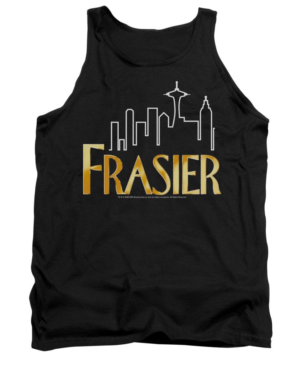 Frasier Tank Top featuring the digital art Frasier - Frasier Logo by Brand A