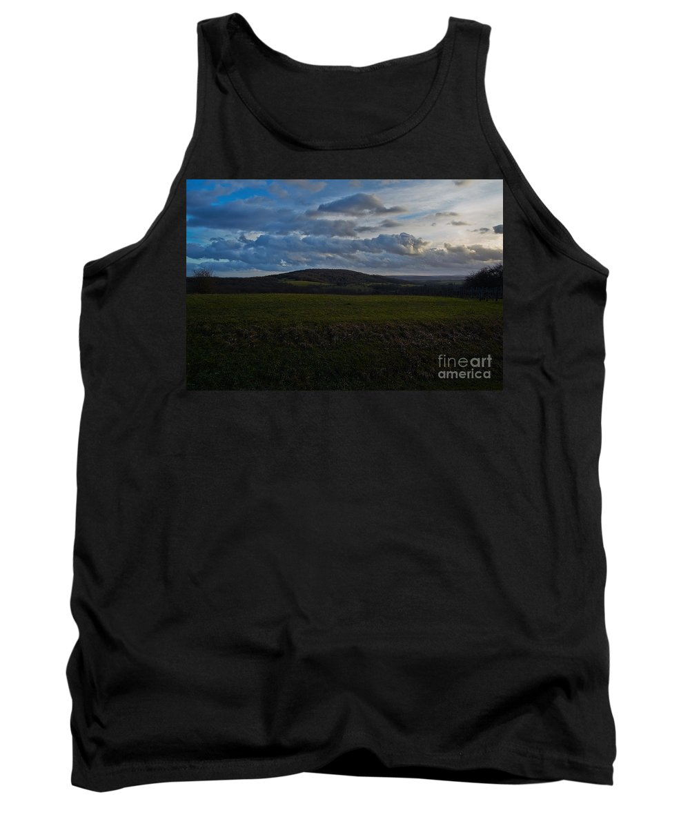 Hills Tank Top featuring the photograph French Hills by Brothers Beerens
