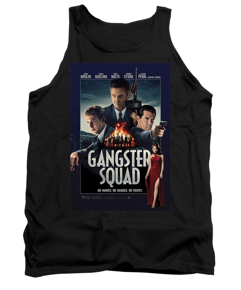 Gangster Squad Tank Top featuring the photograph Gangster Squad by Movie Poster Prints