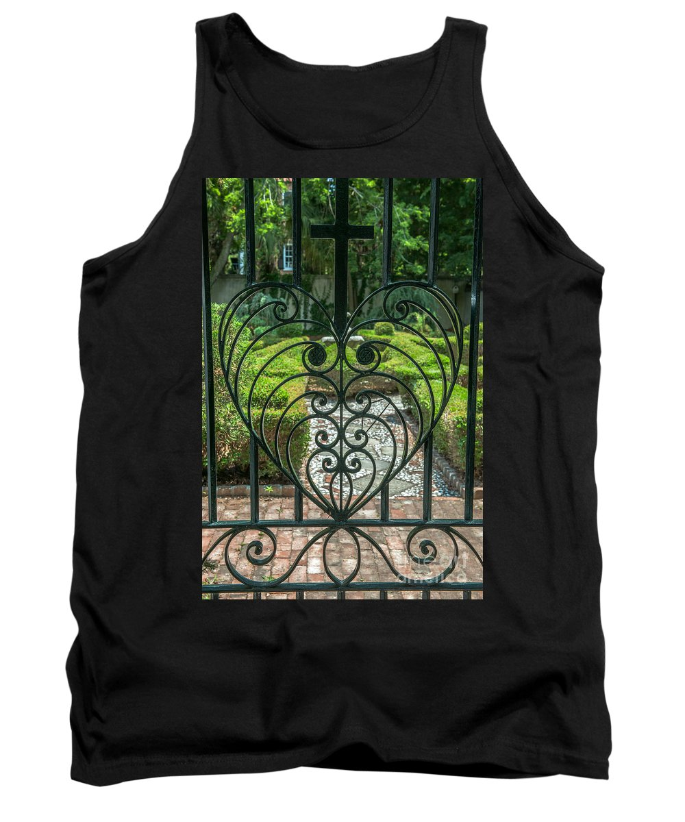 Gate Keeper Tank Top featuring the photograph Gate Keeper by Dale Powell