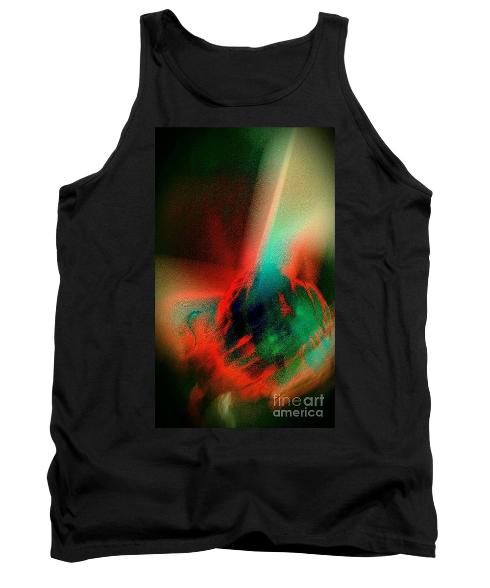 Birth Tank Top featuring the photograph Genesis by Jacqueline McReynolds
