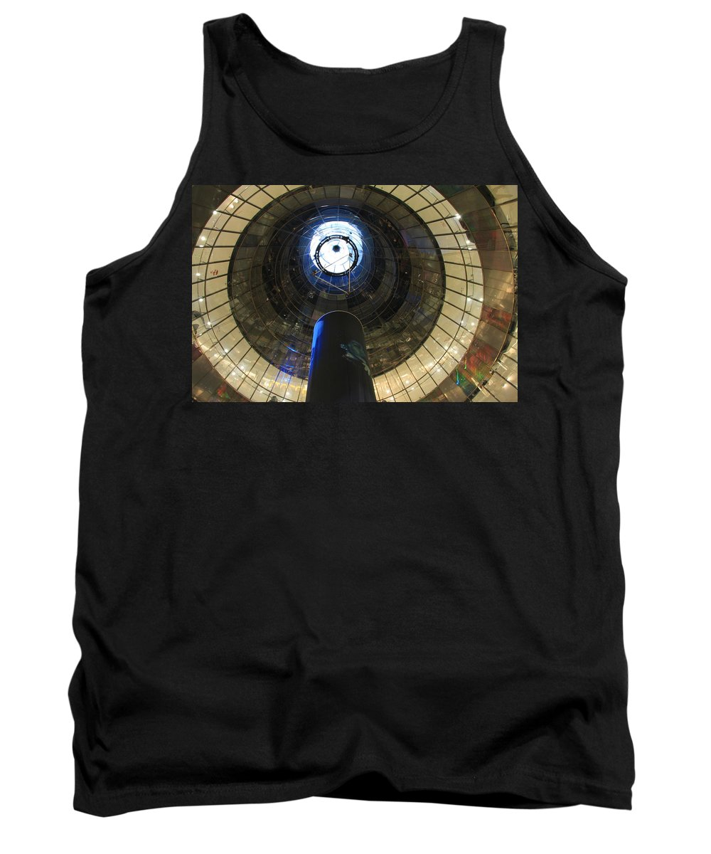 Glass Spiral Tank Top featuring the photograph Glass Spiral by Christiane Schulze Art And Photography