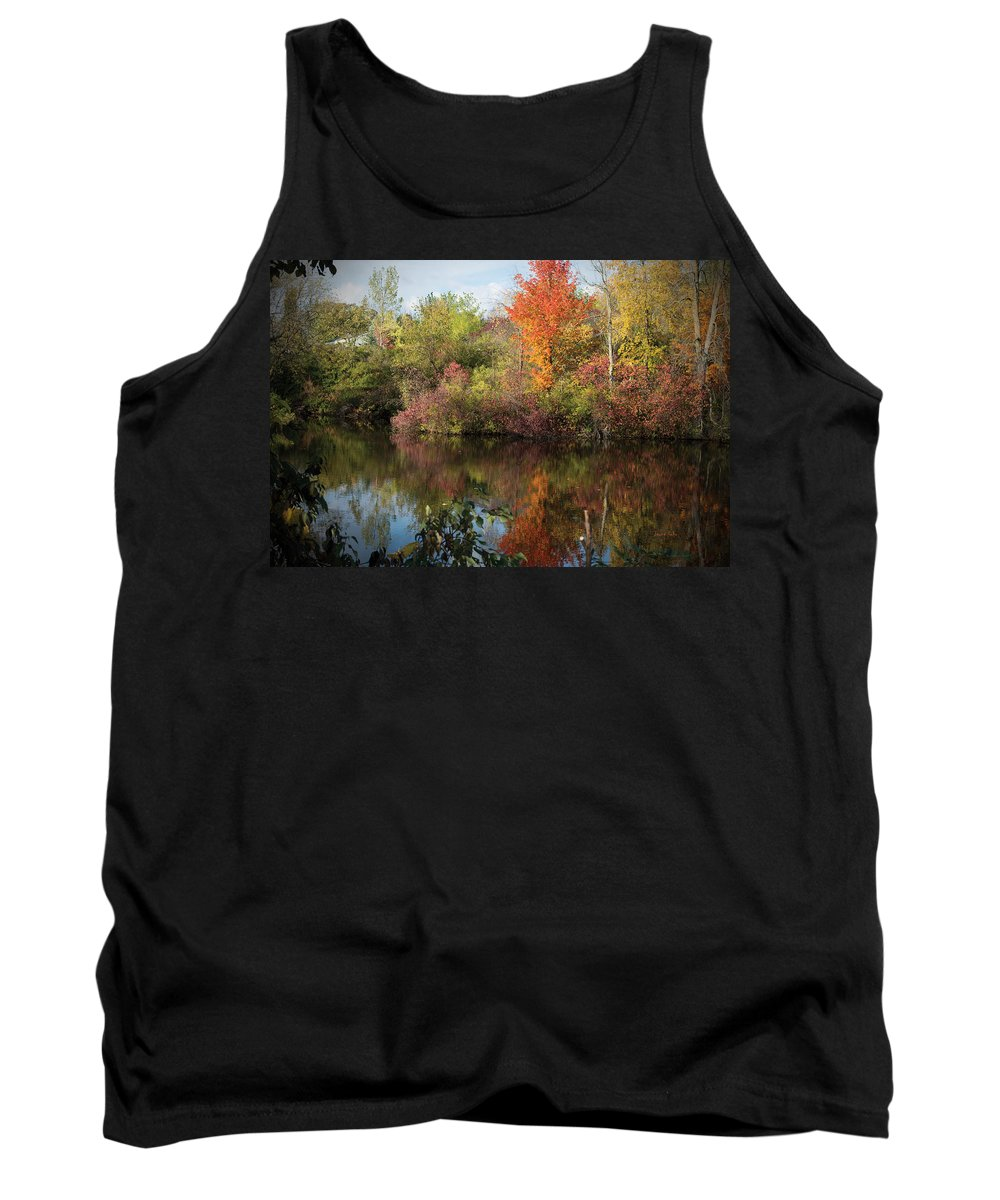 Fall Tank Top featuring the photograph God's Canvas by Jayne Gohr