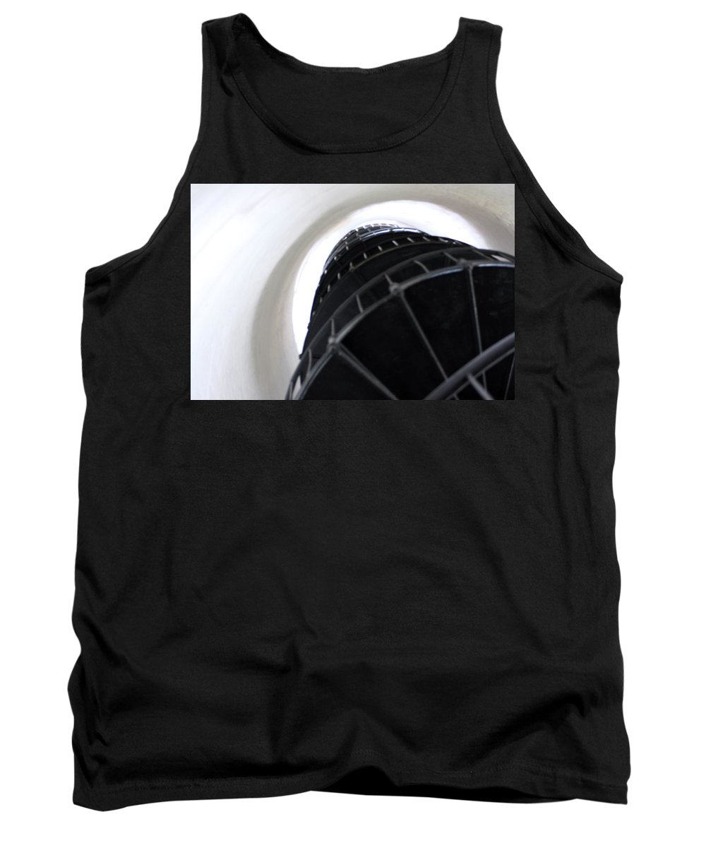 Lighthouse Tank Top featuring the photograph Going Up by Chuck Hicks