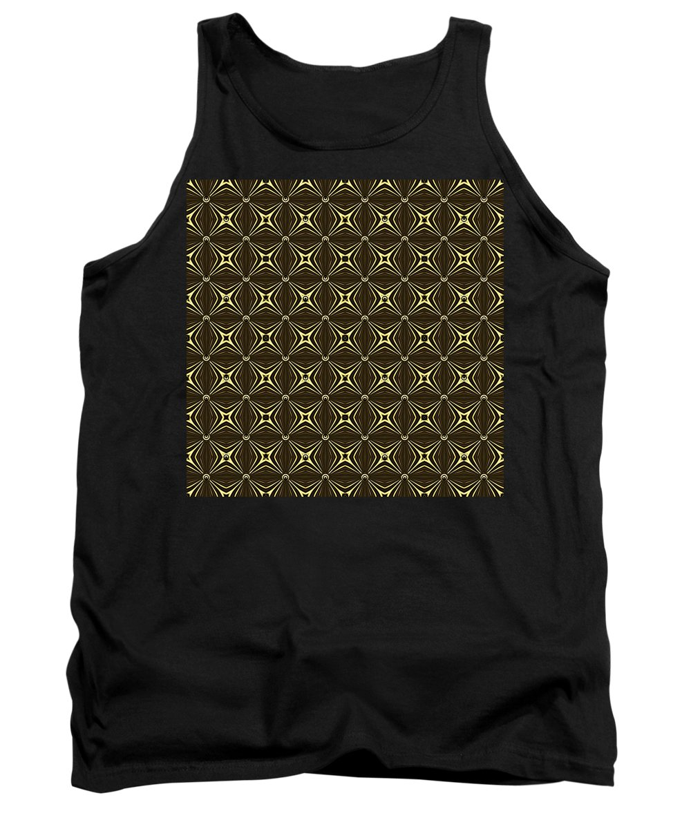 """""""gleaming Gold"""" Tank Top featuring the digital art Gold Metallic 17 by Patricia Keith"""
