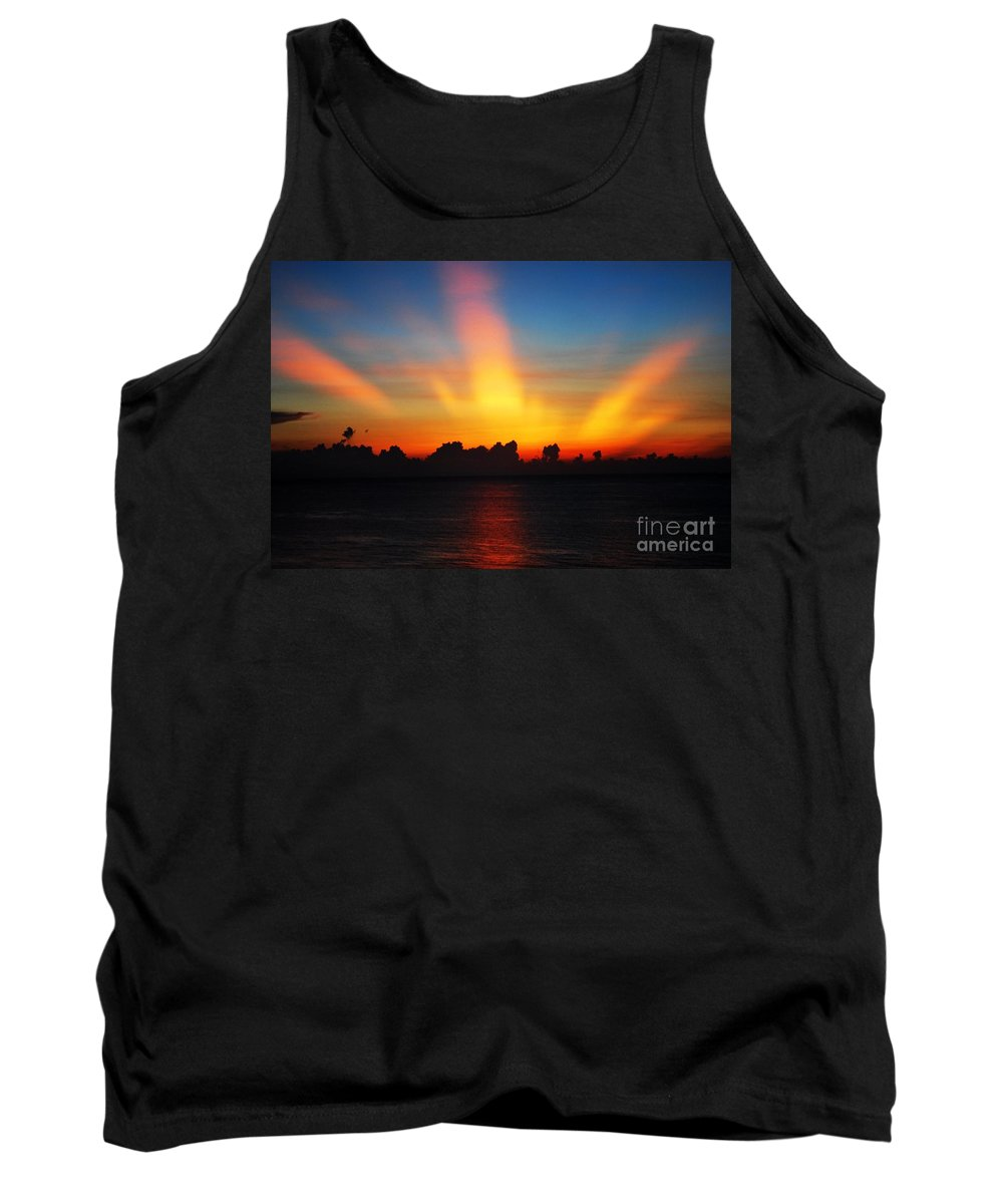Sunrise Tank Top featuring the photograph Good Morning Fort Laurderdale by Judy Wolinsky