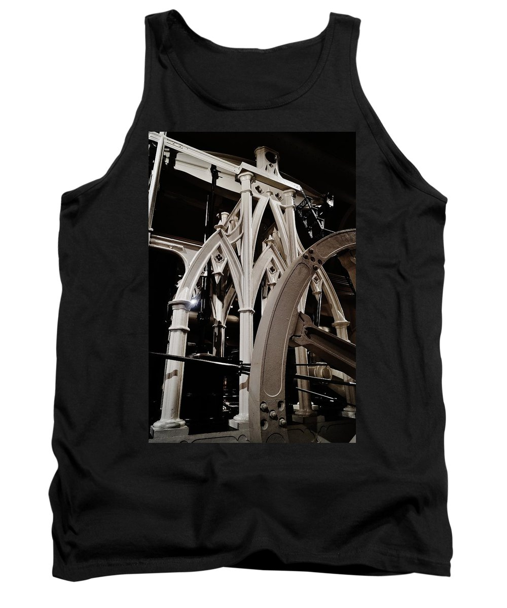 Tank Top featuring the photograph Gothic Power by Daniel Thompson
