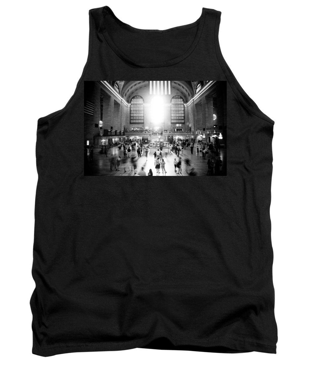 Grand Central Station Tank Top featuring the photograph Grand Central Station by Georgia Fowler