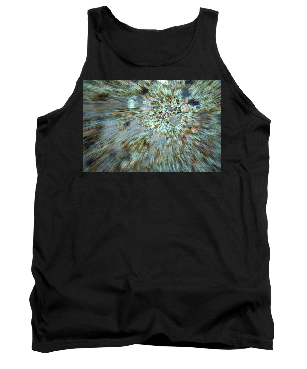 Psychedelic Tank Top featuring the photograph Granite Dreams by Ric Bascobert