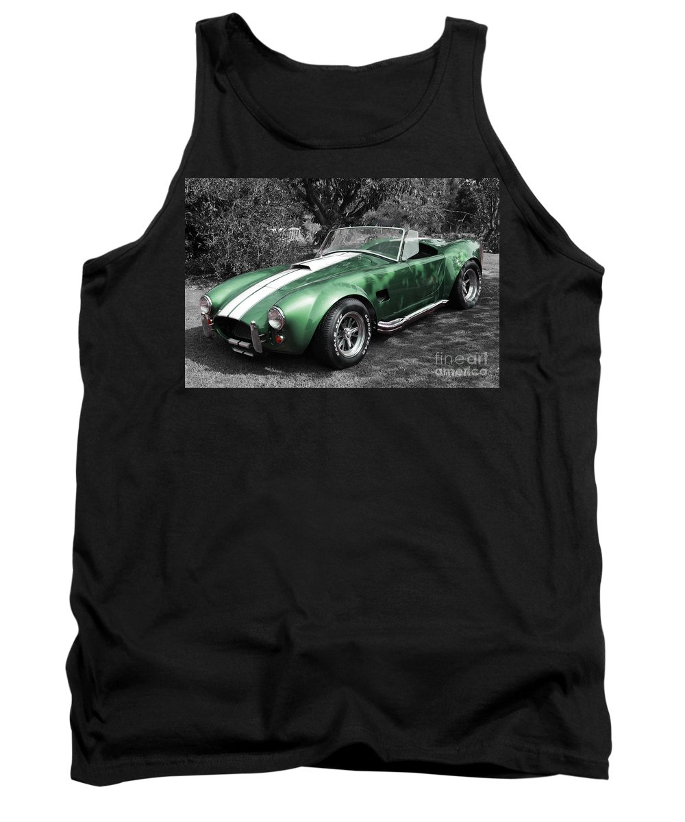 Cobra Tank Top featuring the photograph Green Cobra by Nicholas Burningham