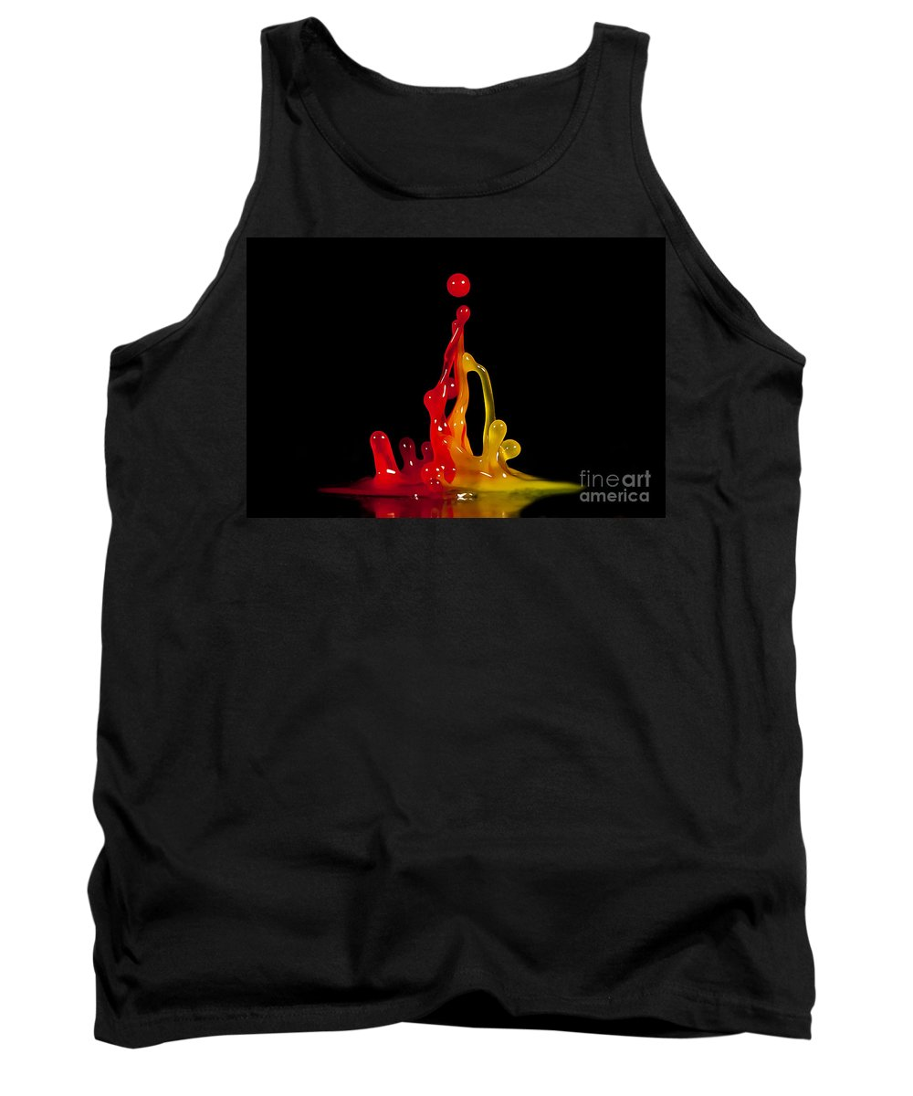 Water Tank Top featuring the photograph Gummy Drops by Anthony Sacco
