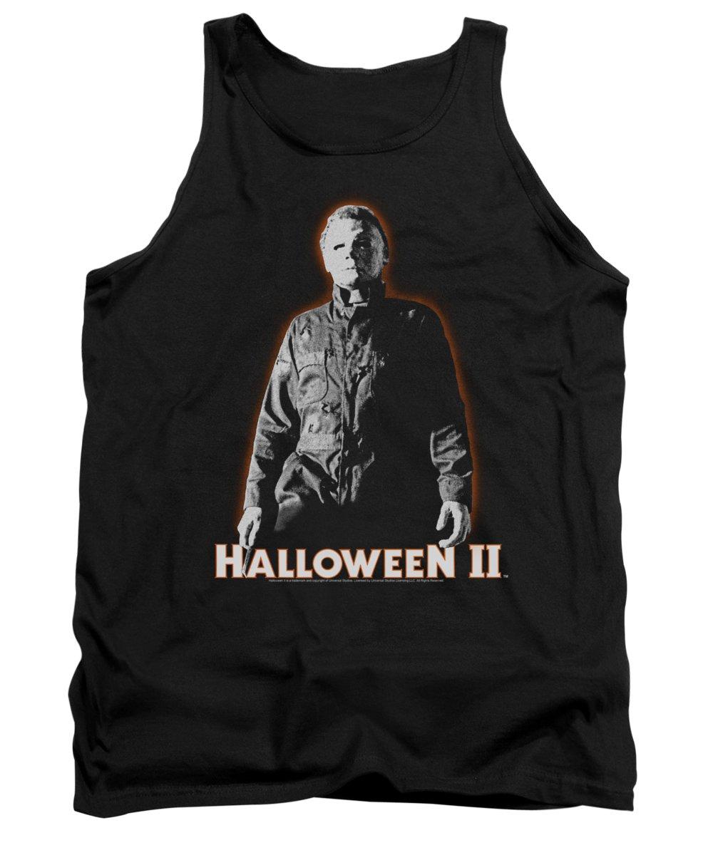 Halloween 2 Tank Top featuring the digital art Halloween II - Michael Myers by Brand A