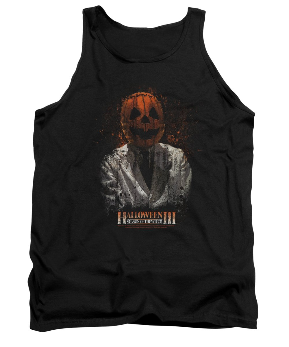 Halloween 3 Tank Top featuring the digital art Halloween IIi - H3 Scientist by Brand A
