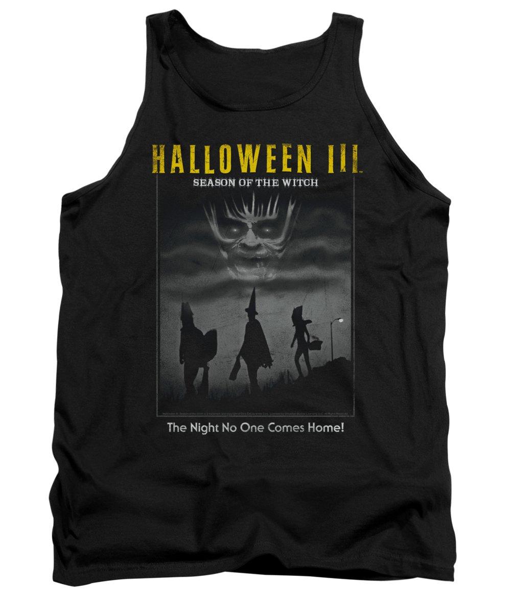 Halloween 3 Tank Top featuring the digital art Halloween IIi - Kids Poster by Brand A