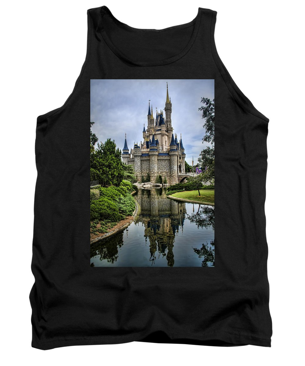 Disney Tank Top featuring the photograph Happily Ever After by Heather Applegate