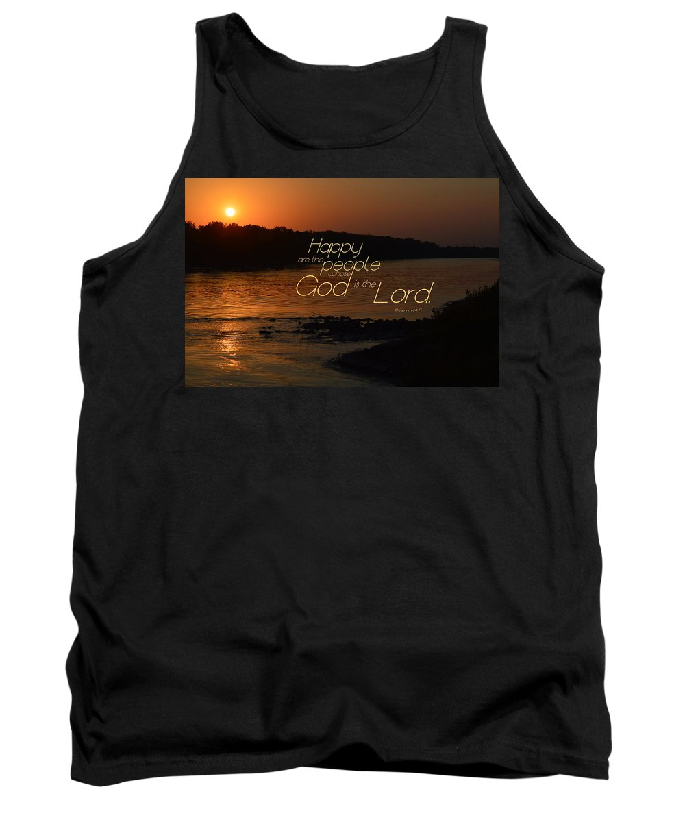 Missouri Tank Top featuring the photograph Happy by Kim Blaylock