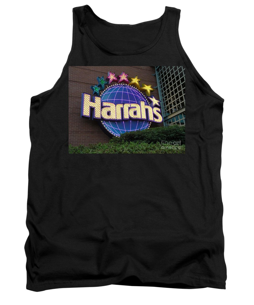Harrahs Tank Top featuring the photograph Harrahs Of New Orleans by Saundra Myles