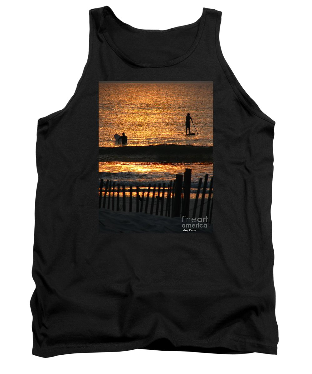 Art For The Wall...patzer Photography Tank Top featuring the photograph Here Comes The Sun by Greg Patzer