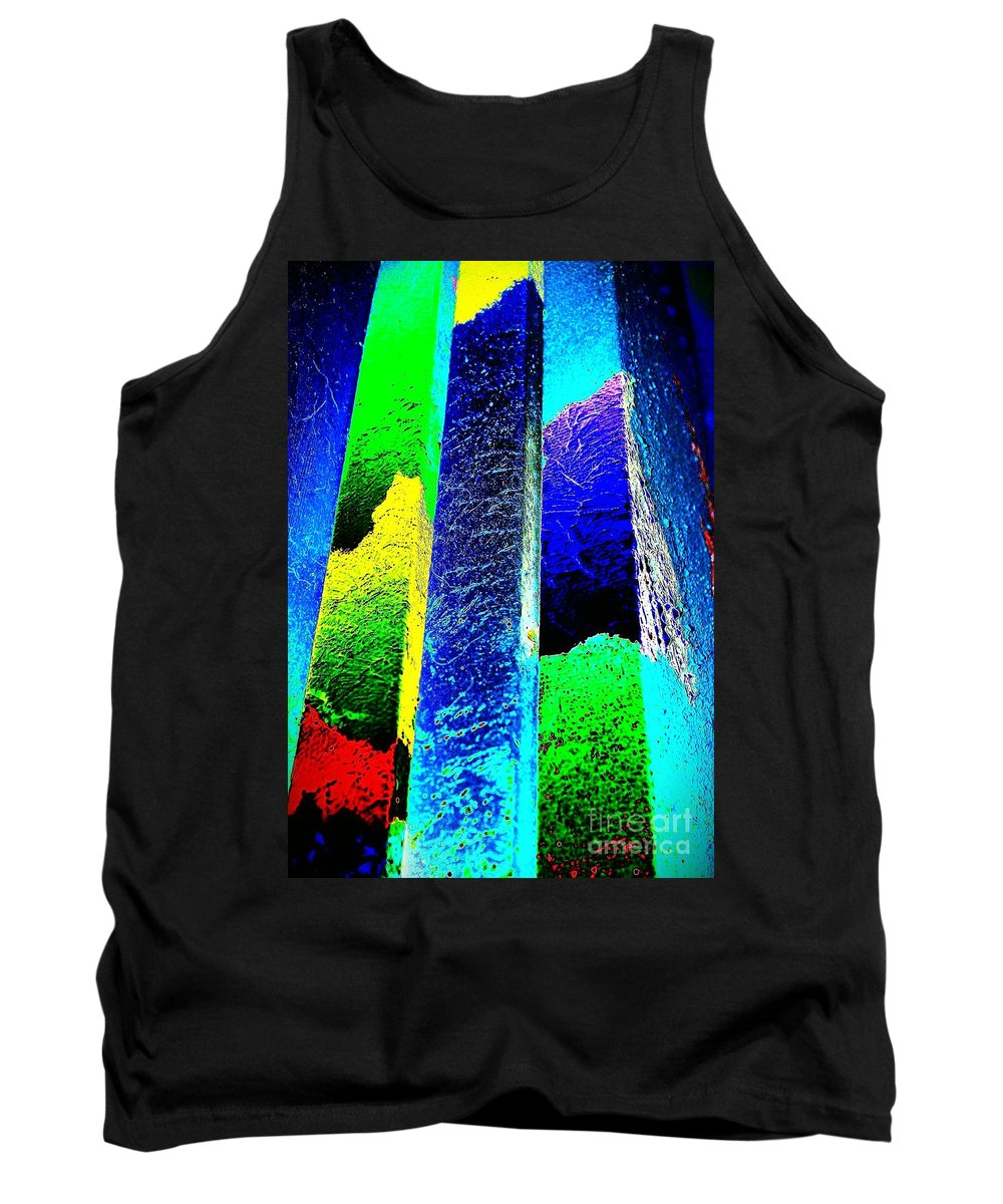 Higher Tank Top featuring the painting Higher by Jacqueline McReynolds