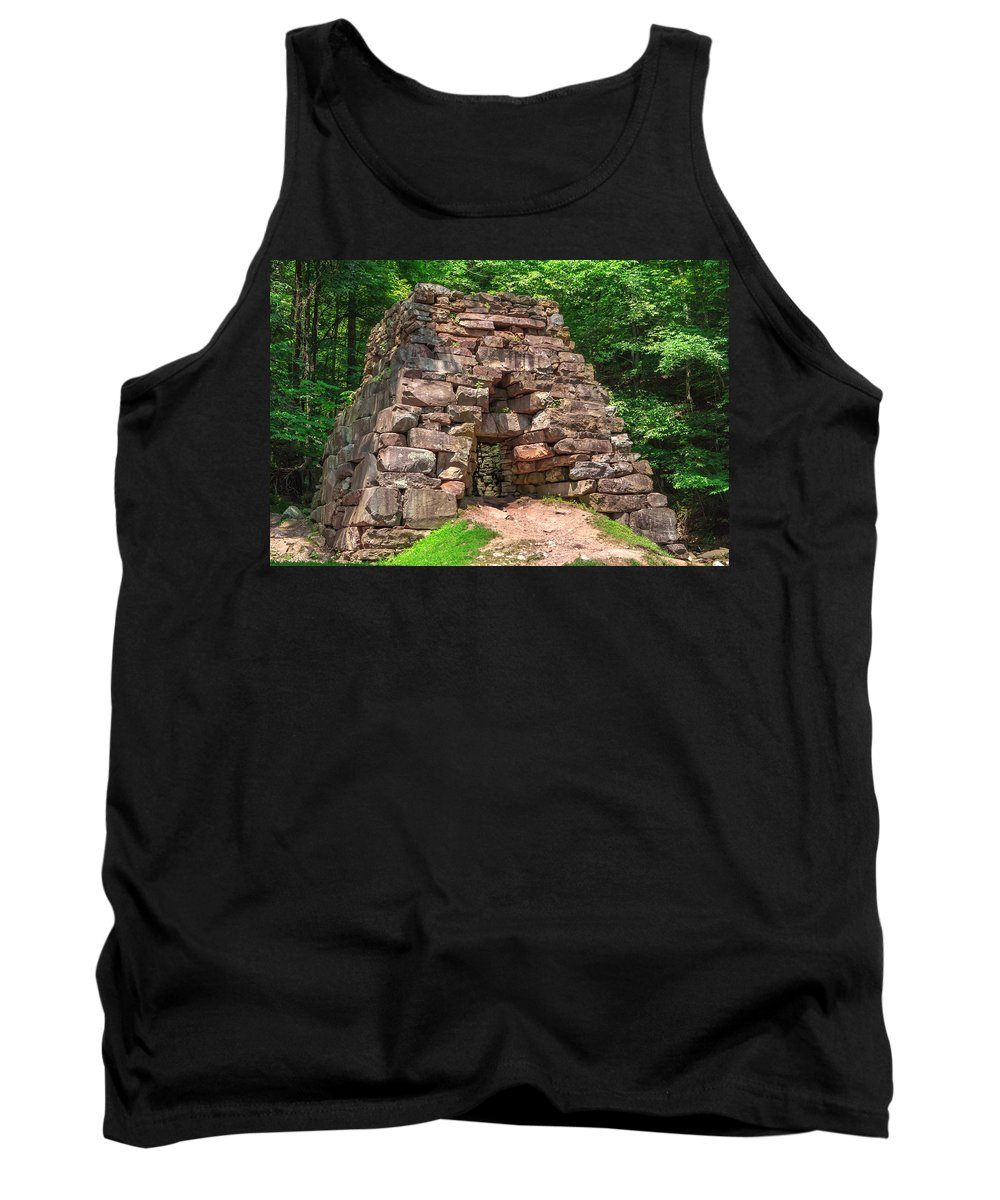 Cumberland Gap National Historical Park Tank Top featuring the photograph Historical Furnace by Mary Almond