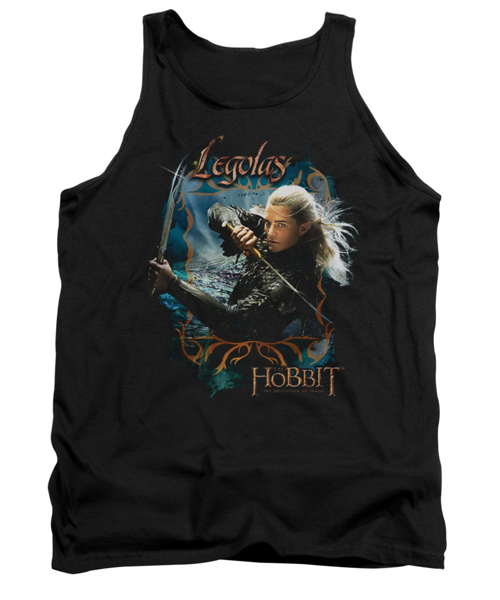 The Hobbit Tank Top featuring the digital art Hobbit - Knives by Brand A