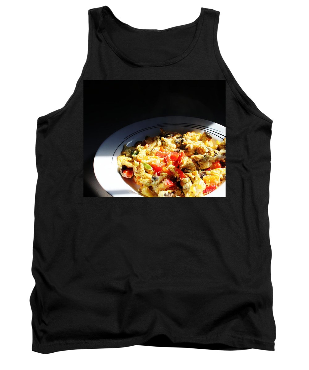 Hot Lunch Tank Top featuring the photograph Hot Lunch by Barbara Griffin