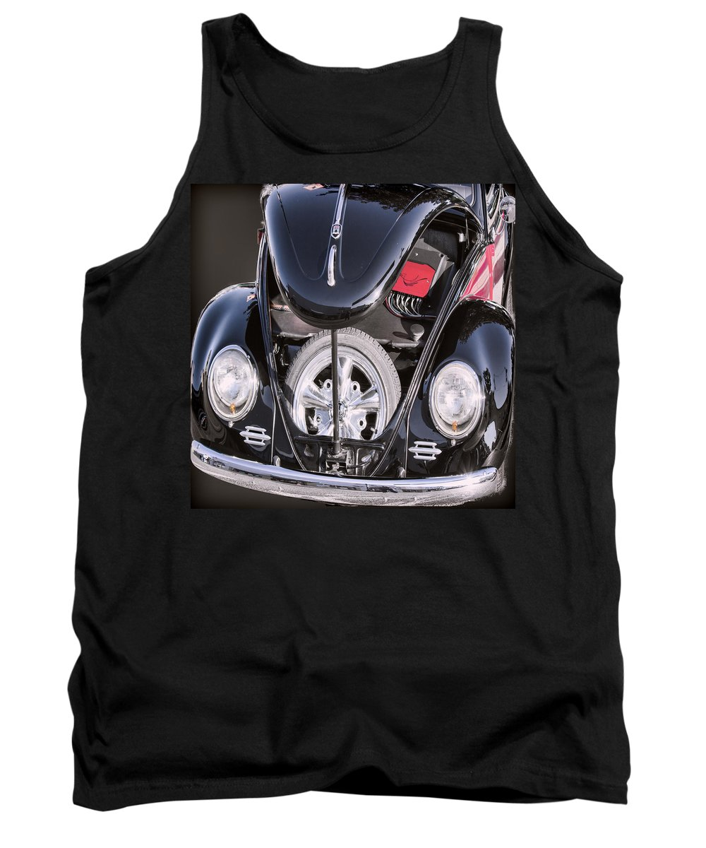 Vw Tank Top featuring the photograph Hot Rod Vw by Cathy Anderson