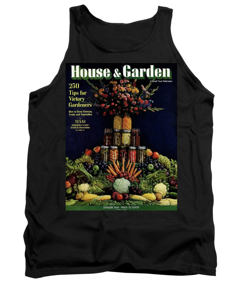 House And Garden Tank Top featuring the photograph House And Garden Cover Featuring Fruit by Fredrich Baker