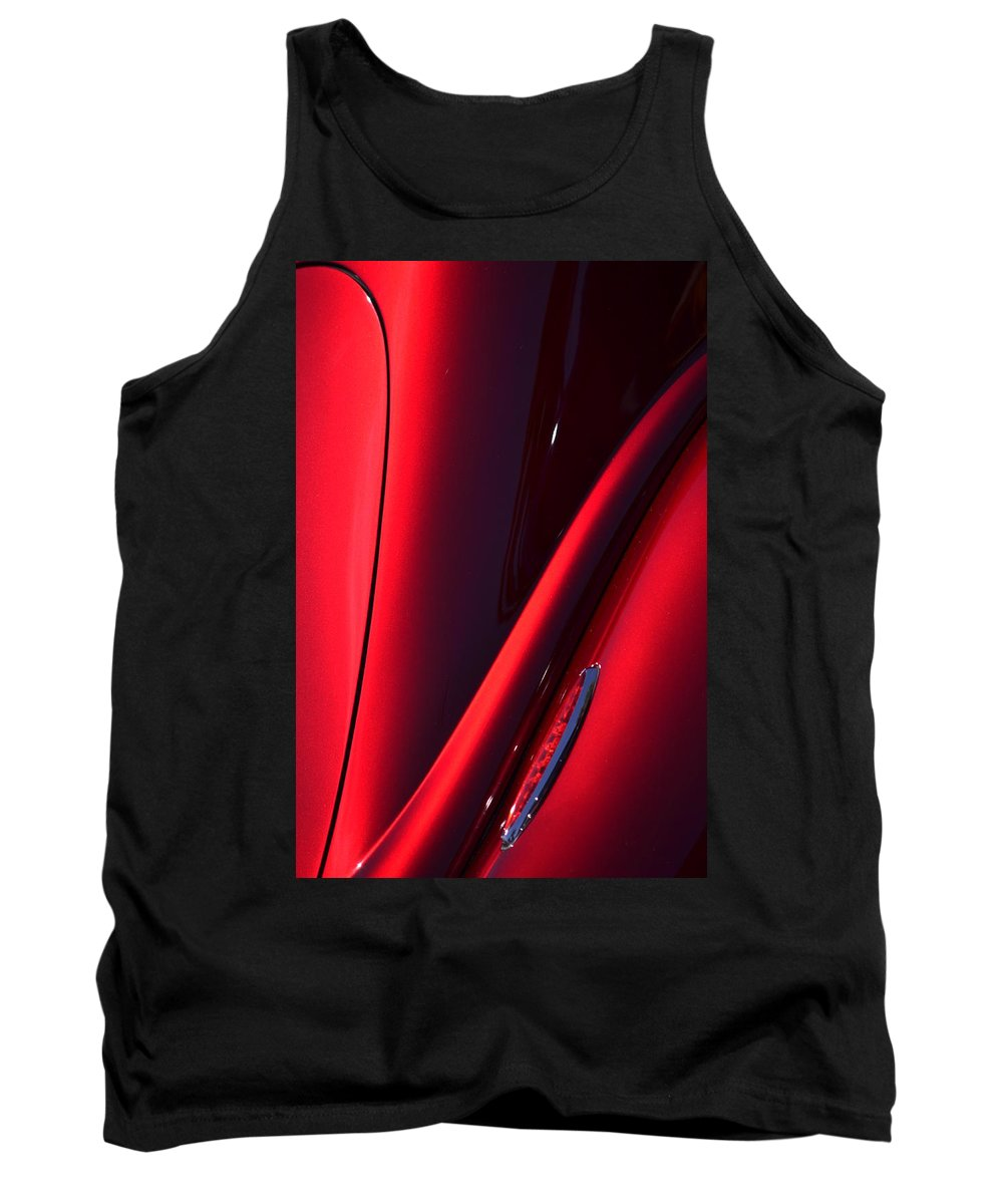 Red Tank Top featuring the photograph Hr149 by Dean Ferreira